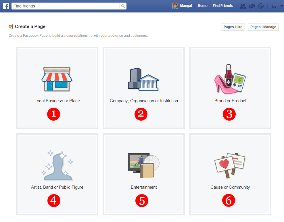 Create Facebook Page Part -2