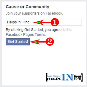 Create Facebook Page Part -3