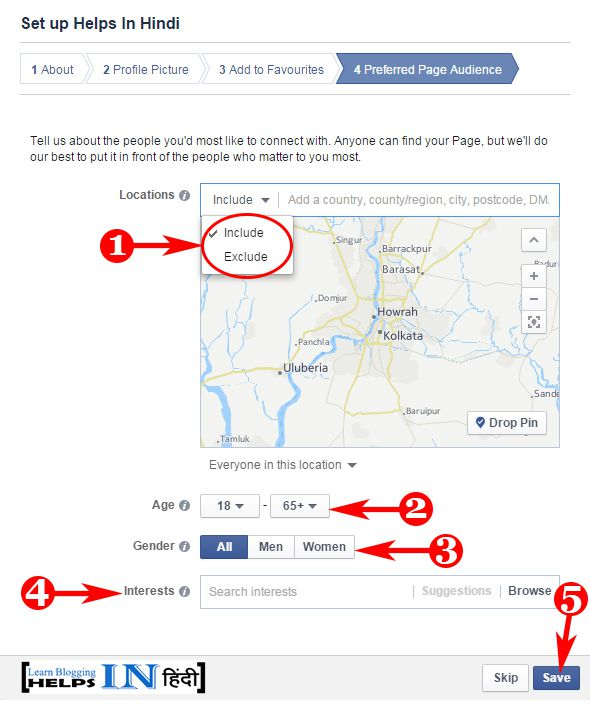 Create Facebook Page Part -7