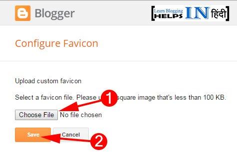 Select Your Favicon Icon