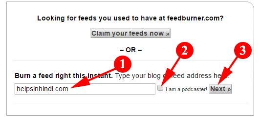Add Your Blog URL