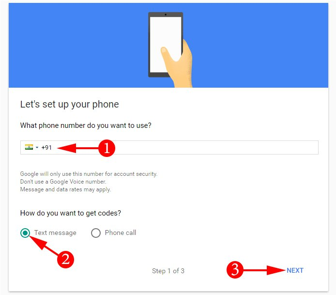 Enter your mobile number for verificaton