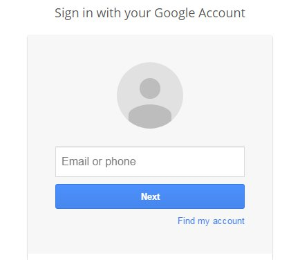 Login Your Gmail Account