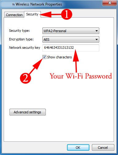Your Wi-Fi Password