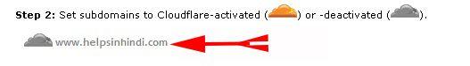 Clcik On Your Site URL Nane