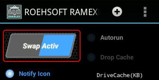 Android Mobile Ki RAM Badhaye Ke Liye Active par click kare