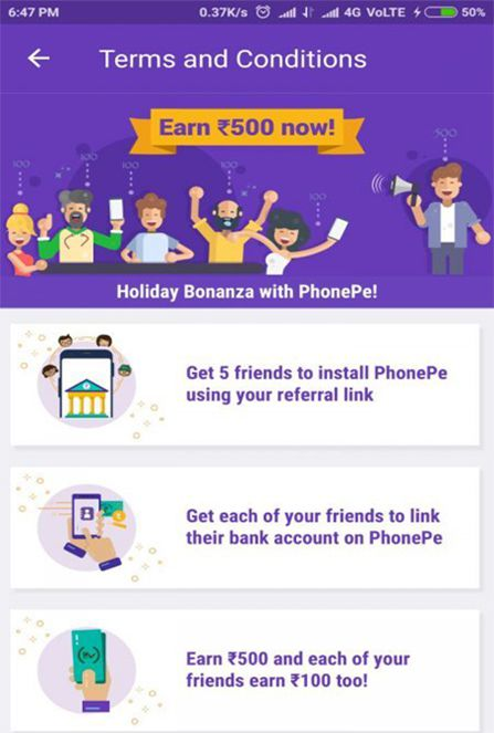 Earn Money From PhonePe App Now