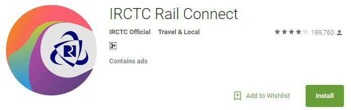 IRCTC Connect