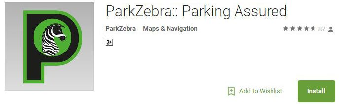 ParkZebra-Parking Assured