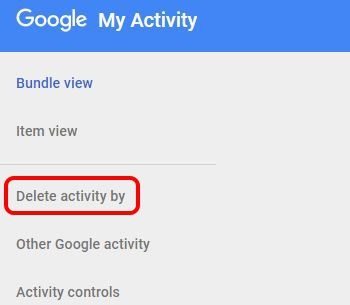 Clcik On Delete Activity by
