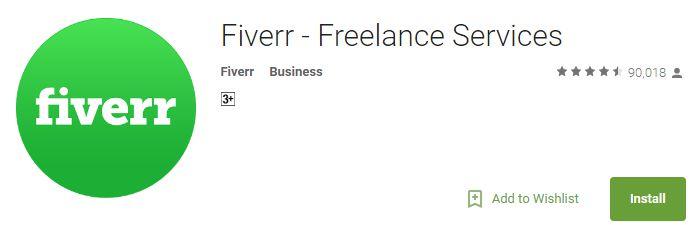Fiverr - Freelance Services App