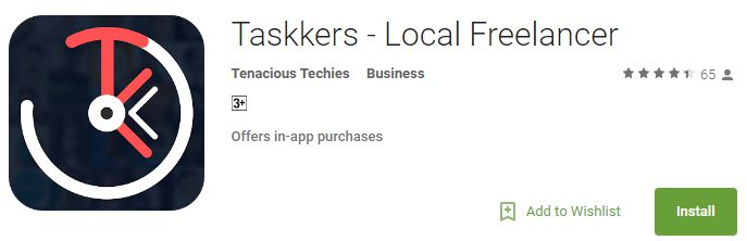 Taskkers - Local Freelancer