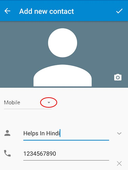 contacts numbers save in google