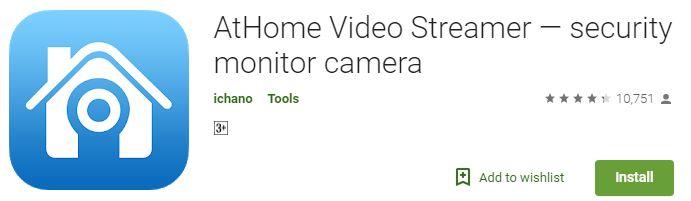 AtHome Video Streamer App on Google Play Store