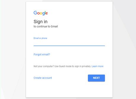 login for gmail offline feature