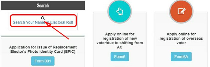 Search Your Name in Electoral Roll