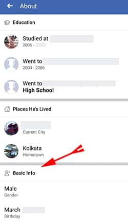 Facebook se Contact Number kaise nikale3