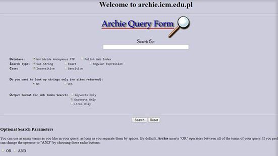 archie-first-search engin