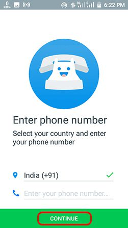 enter-number-on-truecaller-app