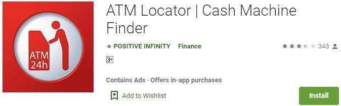 ATM LOCATOR Cash Machine Finder