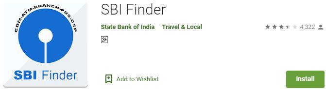 SBI Finder, Atm cash pata karne wala app