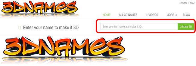 Online Naam wala 3D Wallpaper Download
