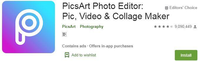 PicsArt Photo Editor App