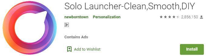 Solo Launcher App
