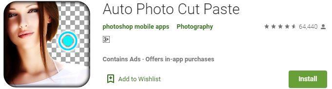 Auto Photo Cut Paste App Download