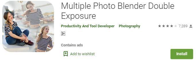 Multiple Photo Blender Apps