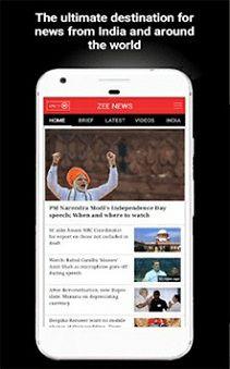 Zee News Live App Download hindi