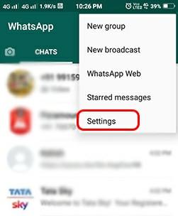 Whatsapp Fingerprint Lock Set कैसे करे?