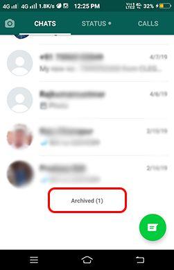 whatsapp secret chat hide