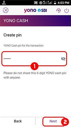 Create Pin SBI Yono App
