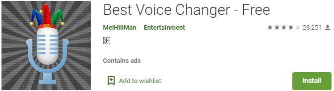 Best Voice Changer - Free App