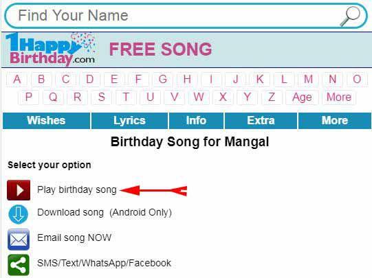apne naam ka birthday song download kare