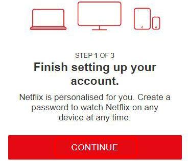 Netflix Account Setup